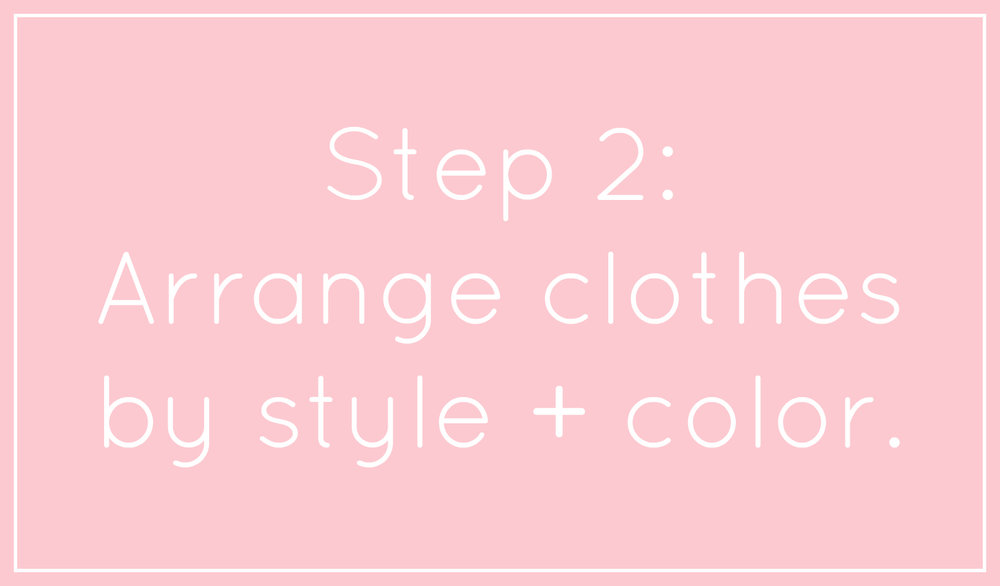 Step 2 in the Makeover Your Bedroom Closet series at hprallandco.com | H.Prall & Co. Interior Decorating