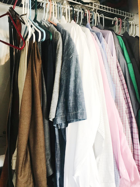 How to Makeover a Bedroom Closet Step 2 of 6 over at hprallandco.com