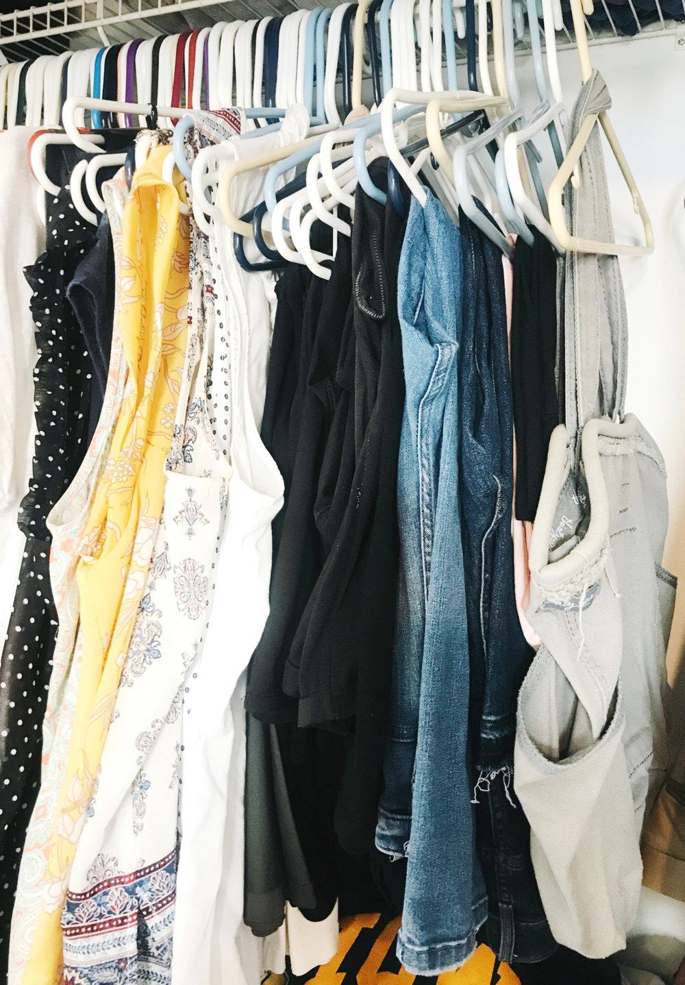 Organizing Your Closet from hprallandco.com