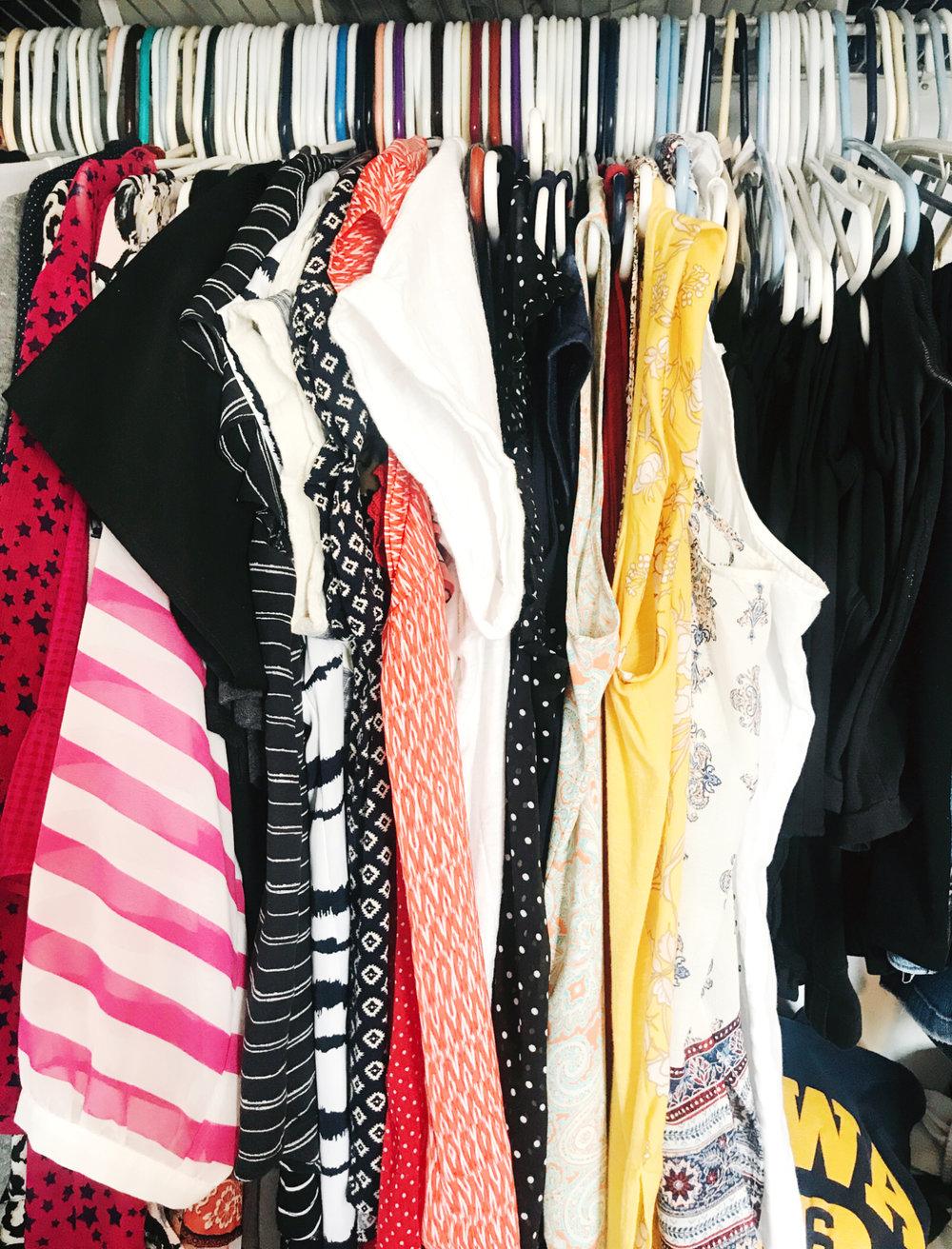 How to Makeover a Bedroom Closet - Step 2 (of 6) | hprallandco.com