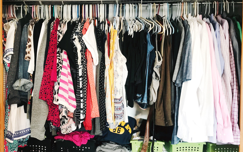 Tips for making over your closet at hprallandco.com | H.Prall & Co. Interior Decorating