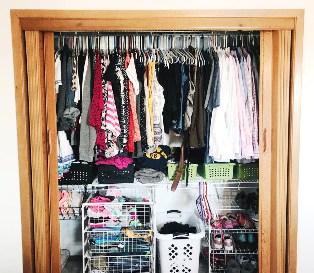 How to Makeover a Bedroom Closet - H.Prall & Co. - hprallandco.com