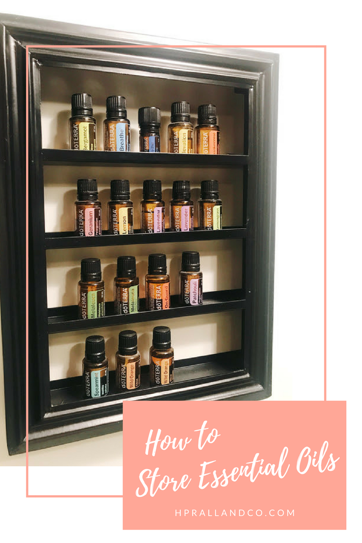 How to store oils
