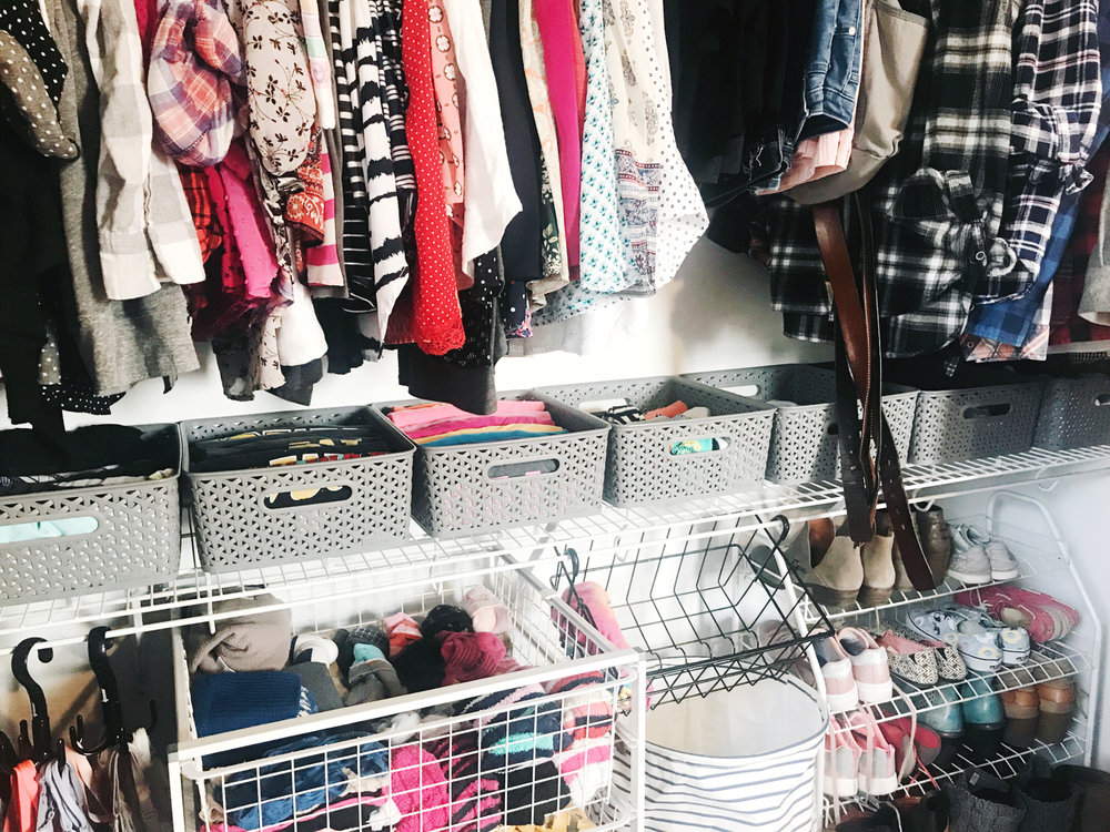 How to Makeover a Bedroom Closet - Step 6 -of 6-4