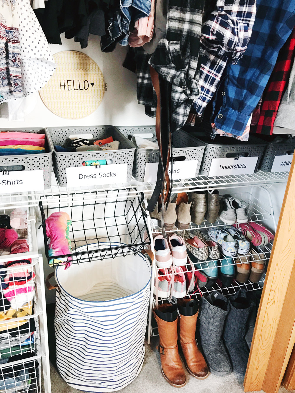 How to Makeover a Bedroom Closet - Step 6-of 6-5