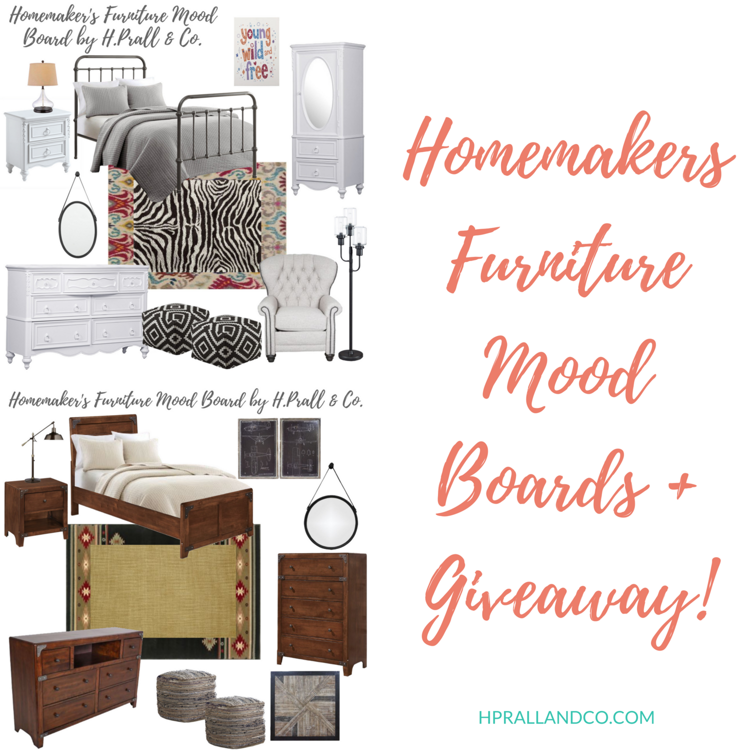 Homemakers Furniture Mood Boards Giveaway H Prall Co