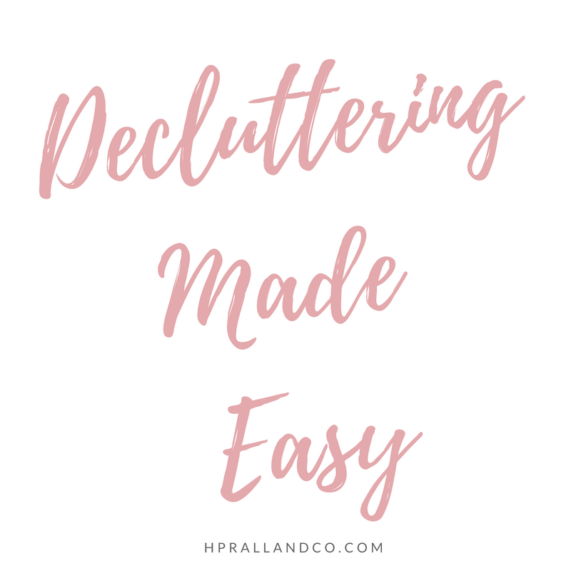 Decluttering Made Easy from H. Prall & Co. | hprallandco.com