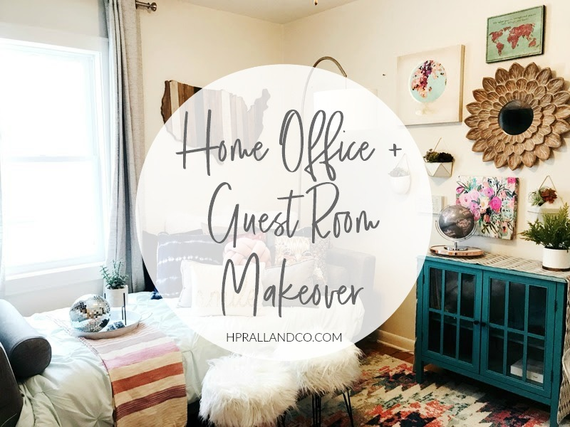 Home Office + Guest Room Makeover By H.Prall U0026amp; Co. Interior Decorating