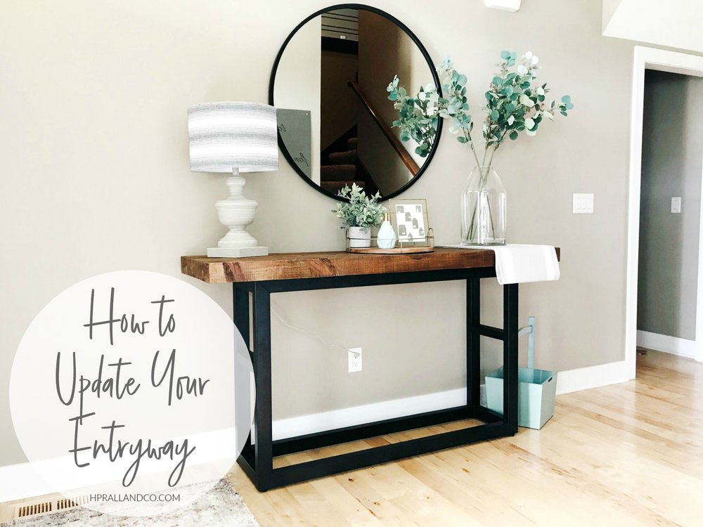 How to Update Your Entryway from hprallandco.com | H.Prall & Co. Interior Decorating