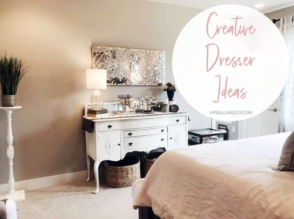 Creative Dresser Ideas from hprallandco.com | H.Prall & Co. Interior Decorating