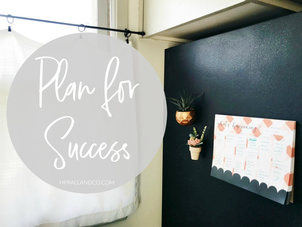 Plan for Success from H.Prall & Co. | hprallandco.com
