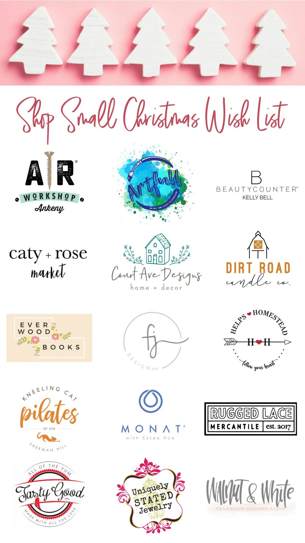 I'm sharing some amazing small businesses to knock out your Christmas shopping over at hprallandco.com