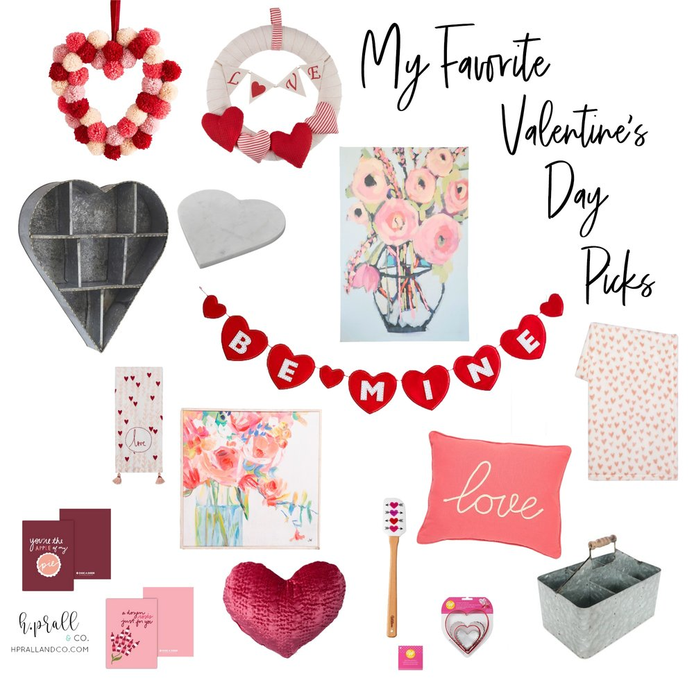I'm sharing my favorite Valentine's Day picks at hprallandco.com!