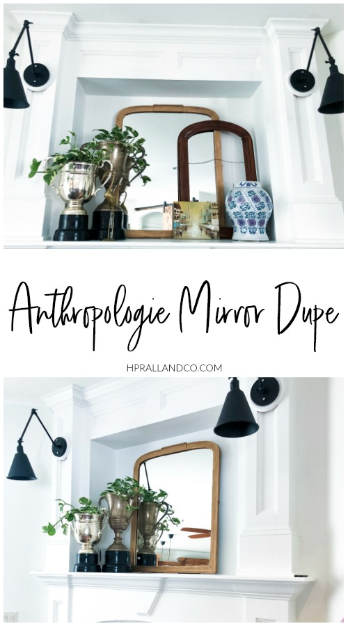 Anthropologie Mirror Dupe from hprallandco.com | H.Prall & Co. Interior Decorating, Des Moines, IA