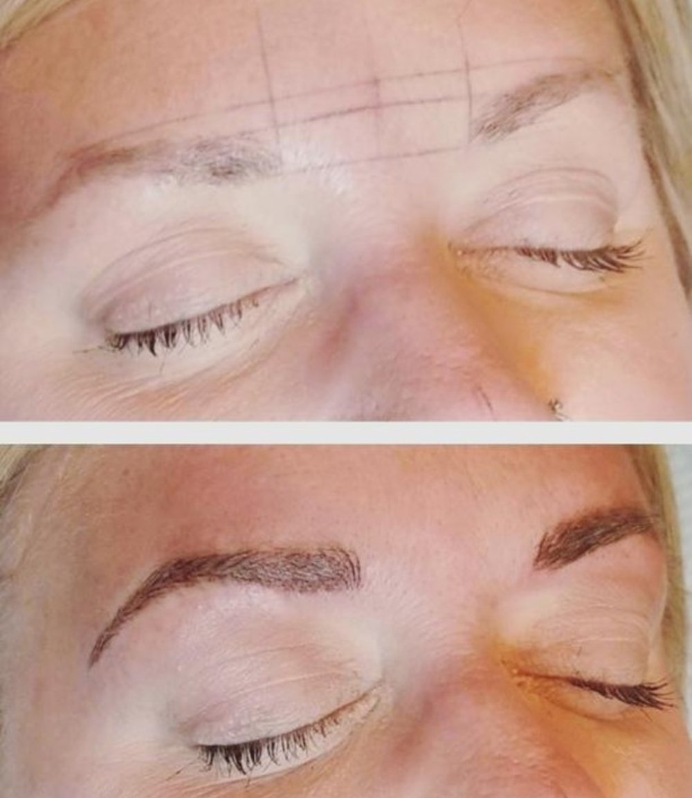 I'm sharing my eyebrow microblading experience over at hprallandco.com! | H.Prall & Co. Interior Decorating