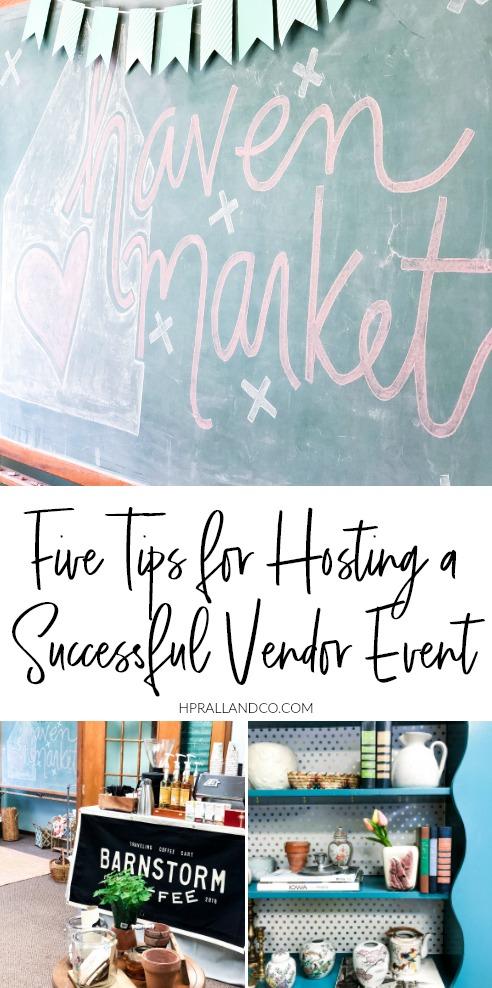 5 Tips for Hosting a Successful Vendor Event from hprallandco.com | H.Prall & Co. Interior Decorating