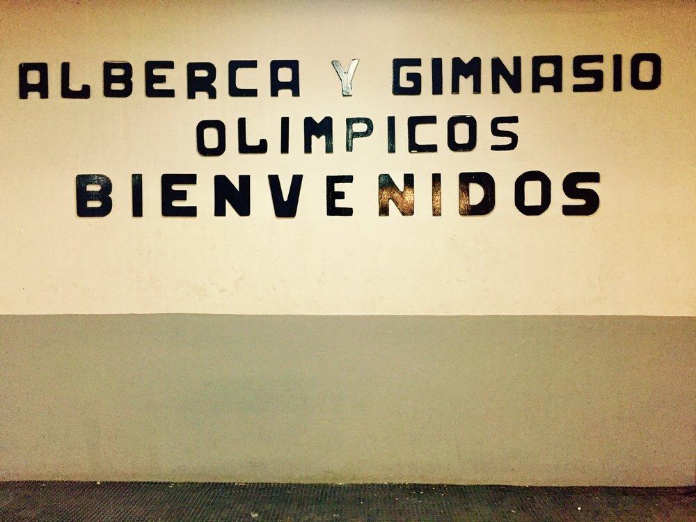 athletes' entrance
