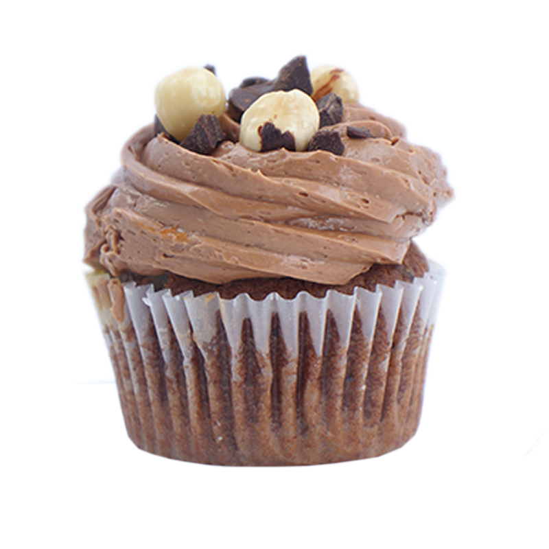 Gianduiotto   Gianduia cake, and Hazelnuts                                                                                  Available in regular and  mini size.       Gluten Free option available. Please call the store for daily flavor.