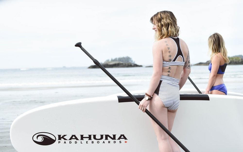 Lifestyle product shot on location in Tofino BC. Photo courtesy Nadine Nevitt.