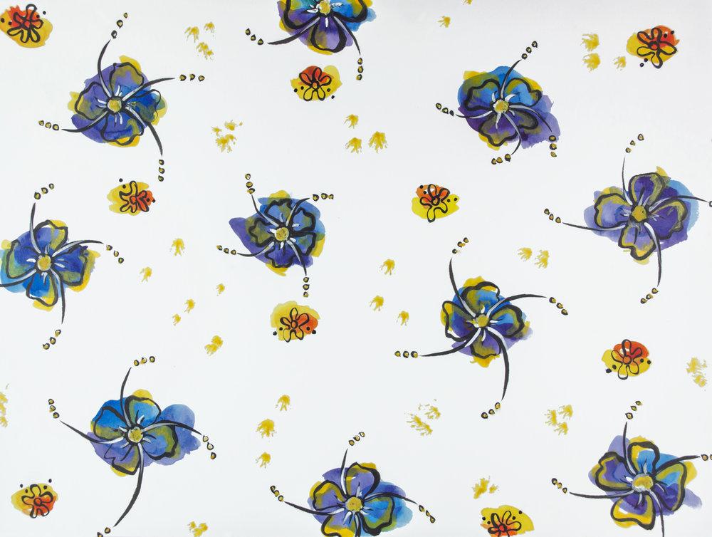 Pinwheel Florals