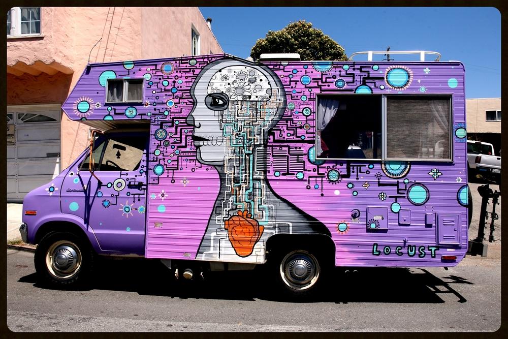 'Purple Brain' San Francisco 2013
