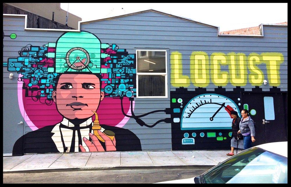 Mural on Capp St. San Francisco 2016