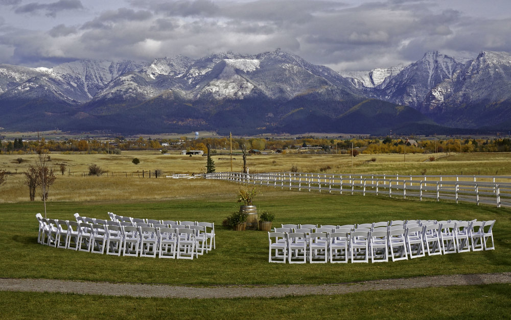Rugged Horizon Outdoor Fall Wedding Montana