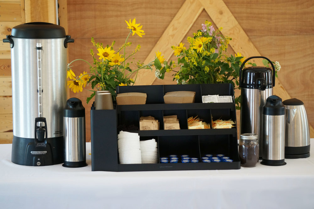 Coffee & Tea Bar - $150
