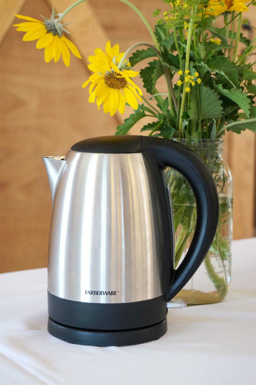 Electric Tea Kettle - $5