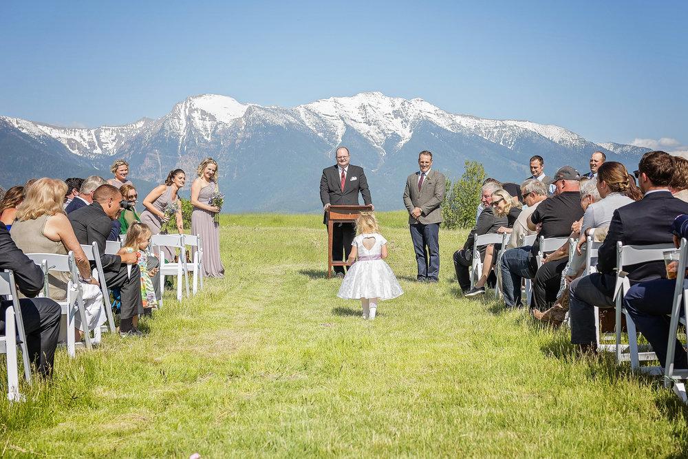 Spring Weddings at Rugged Horizon