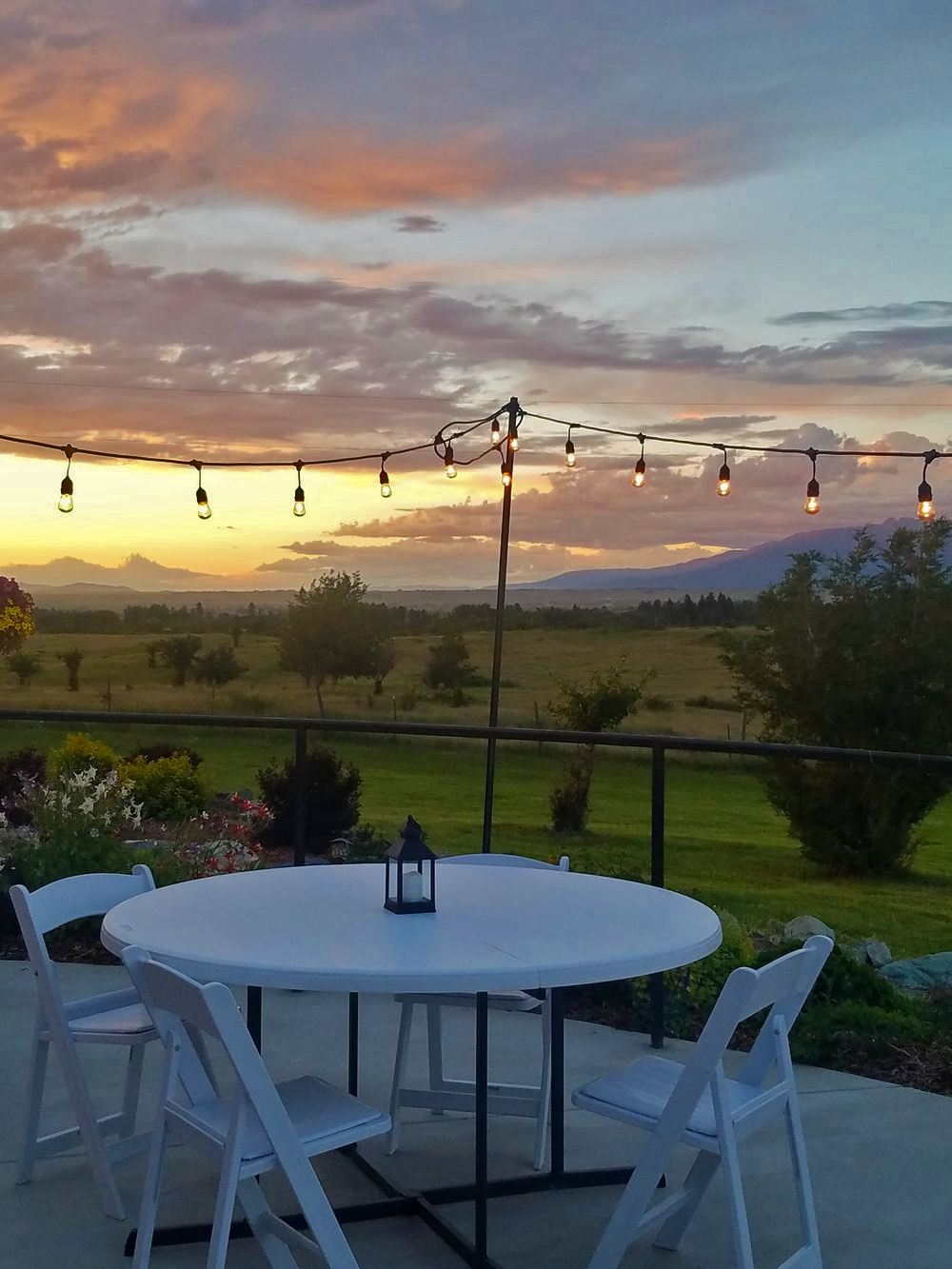 Sunset at Rugged Horizon