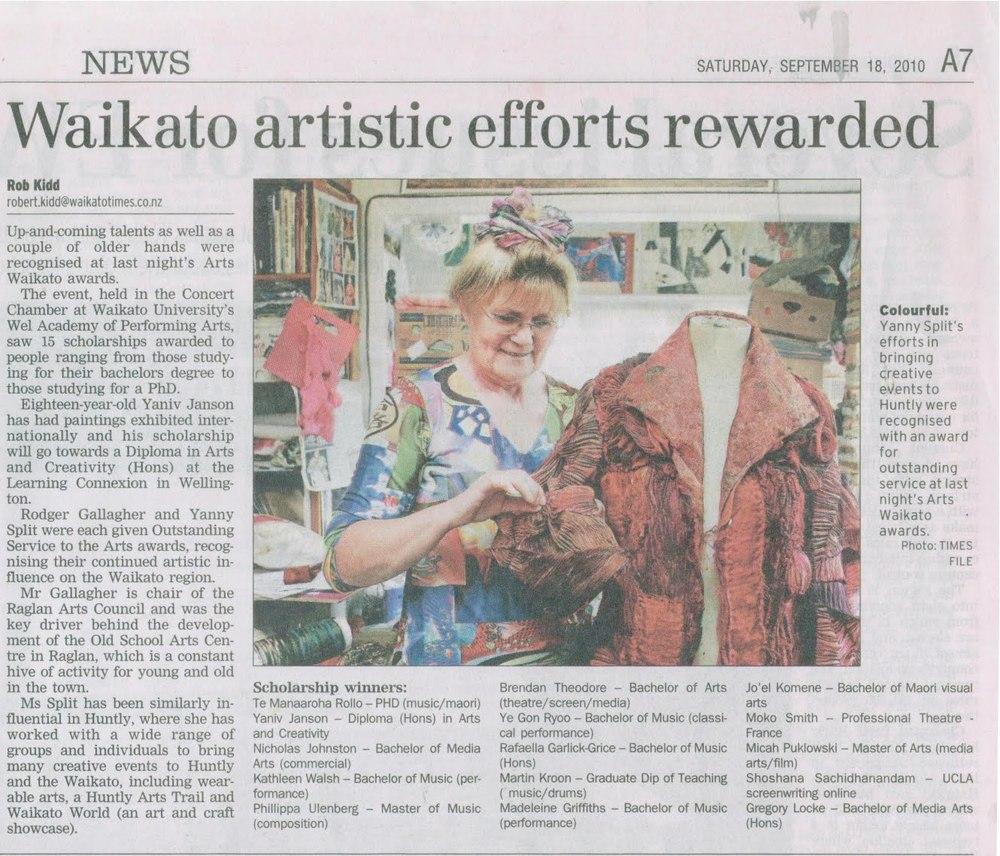 2010 Waikato Times Sept 18.jpg