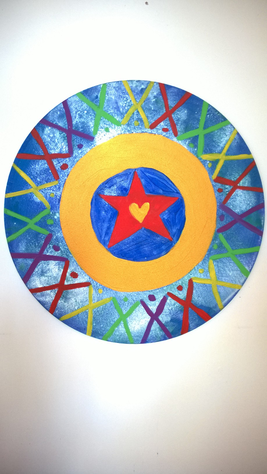 STAR 2017 Acrylic on round Canvas 100 x 100 cm.jpg