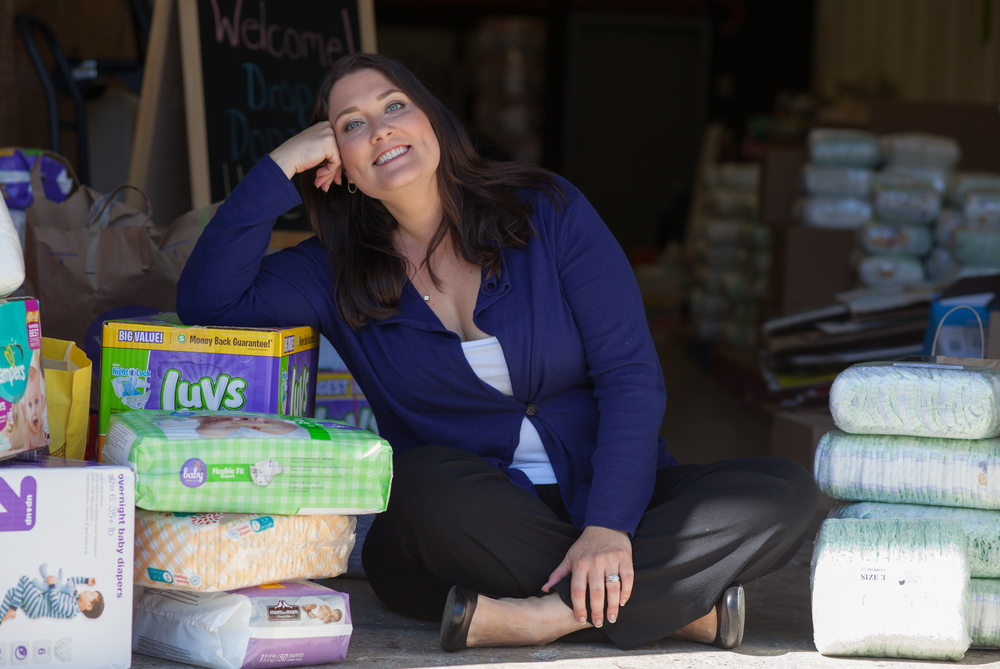 Corinne Cannon founded the DC Diaper Bank while raising an infant son and working a full-time job.