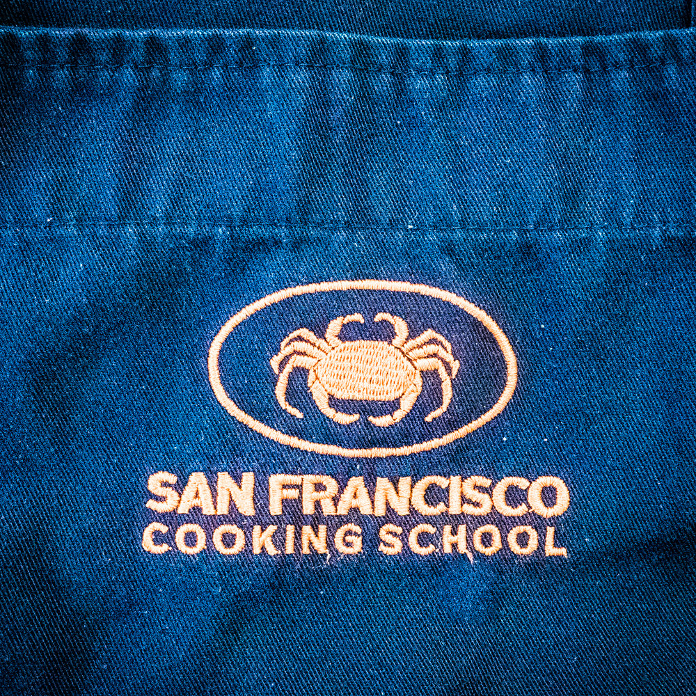 The San Francisco Cooking School on Van Ness, downtown and easily accessible.