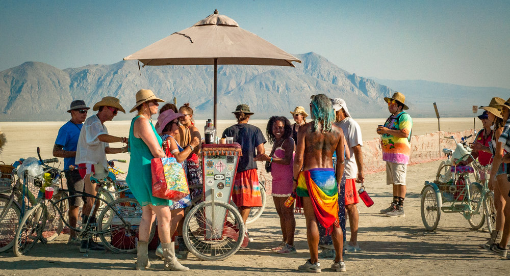 Deep Playa Pop-up Bar.