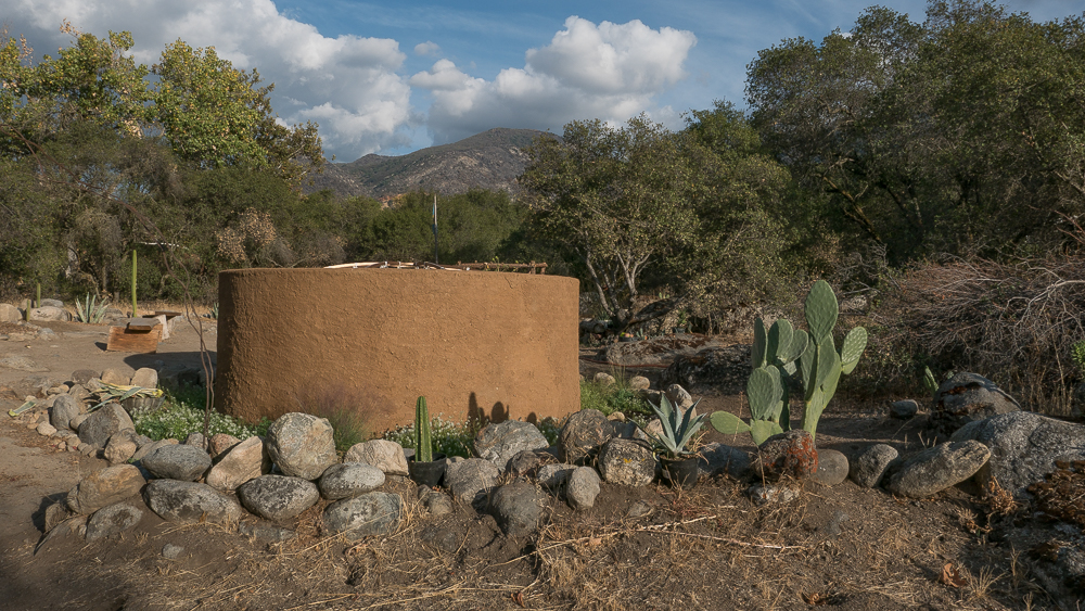 The sweat lodge in the afternoon sunlight. I took all photos with permission, before or after the ceremony.