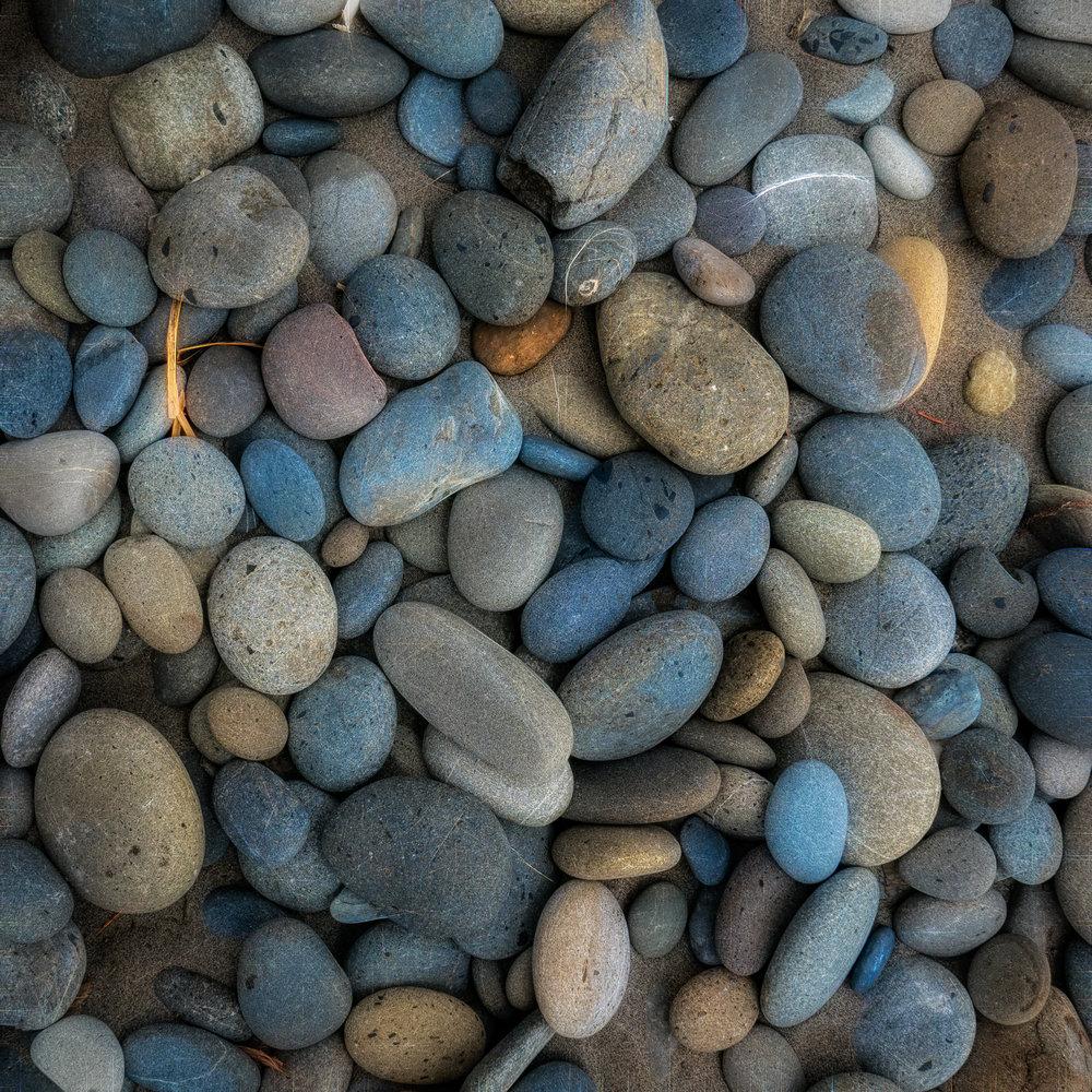 Perfect beach stones.