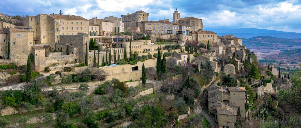 One of my favorite photos, the hill town  Gordes in the Provence Region of France.