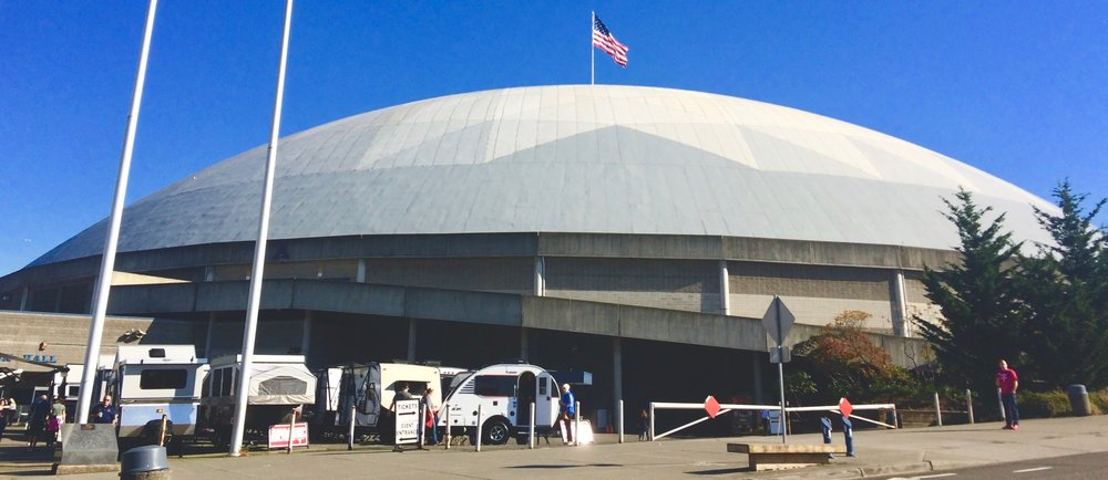 We were wondering, what goes on inside the Tacoma Dome?