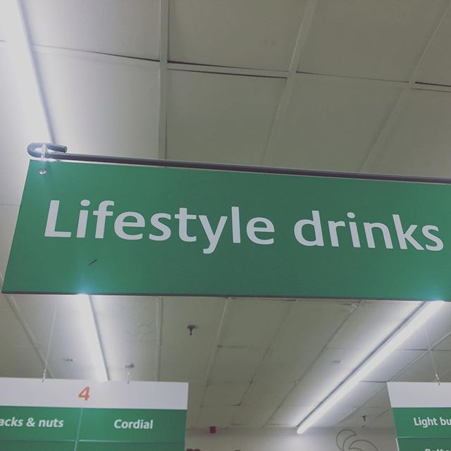 The very best euphemism is to be found in the Things That Go With Vodka aisle