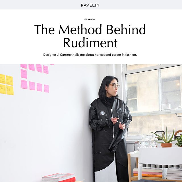 RUDIMENT profile in @ravelinmagazine 👏🏻 RUDIMENT: @rudimentofficial Creative Director: @thisisjiji Text: @alecxoxoxo Photo: @olimpiadior 👇🏻👇🏻👇🏻 http://ravelinmagazine.com/posts/method-behind-rudiment/  #ravelinmagazine #thisisrudiment #studiolife #designstudio #fashion #style #designer #womenswear #objettrouvé #collection #pattern #nyc #tribeca #soho