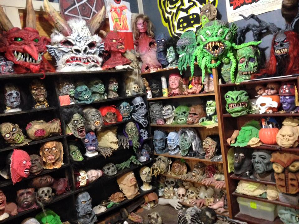 Some of the creations found at the Silver Scream FX Lab.