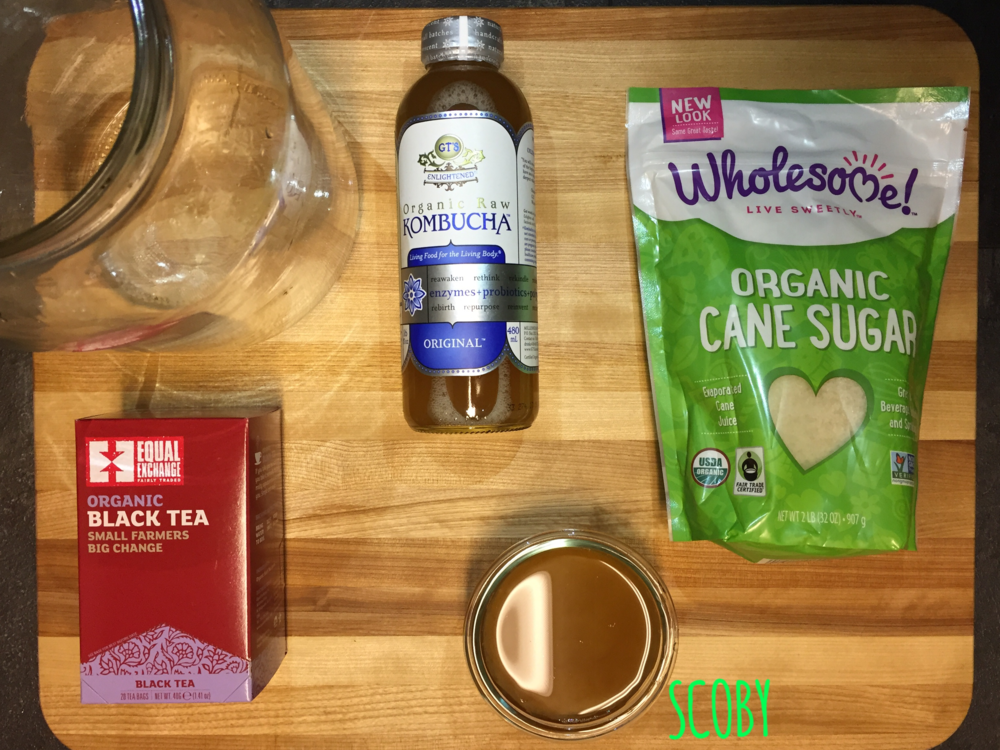 KOMBUCHA SUPPLIES