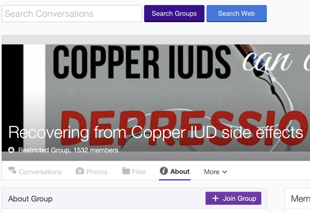 Join the Copper IUD Yahoo Group