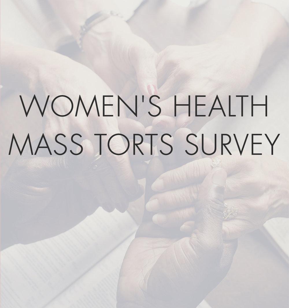Take the Mass Torts Survey