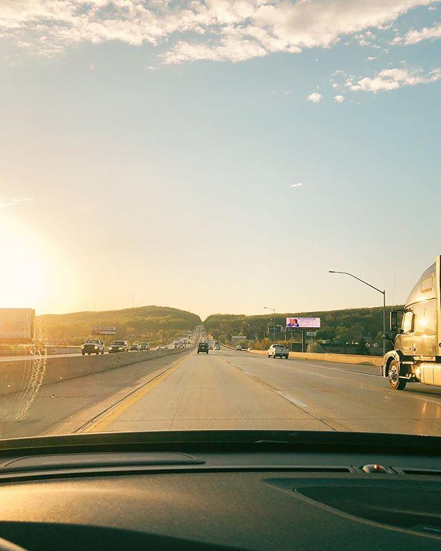 AM #morning #sunrise #highway #vsco