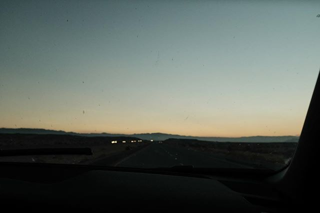 long days, longer nights #roadtrip #arizona #sunset #vsco