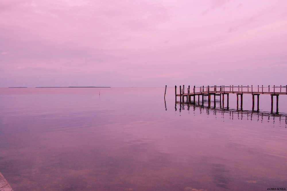 Pier in Pink