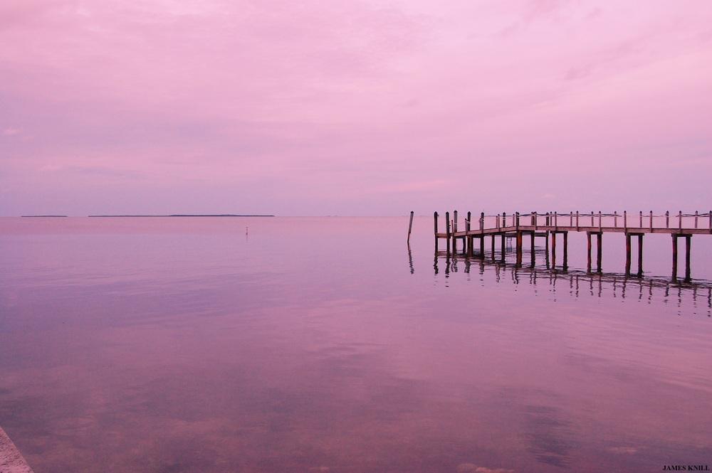 Pink Pier